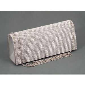 Geanta dama clutch argintie Gyna imagine