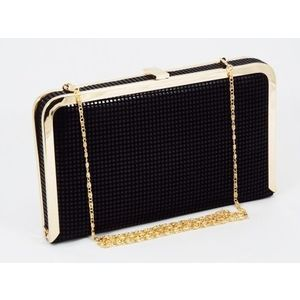 Geanta dama clutch neagra Lolly imagine