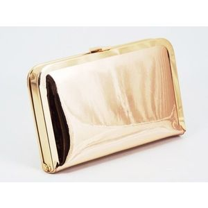Clutch dama auriu Corina imagine