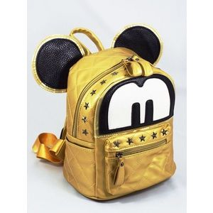 Rucsac dama auriu Mickey imagine