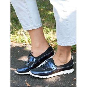 Pantofi Sport Dama Luciosi Bleumarin imagine