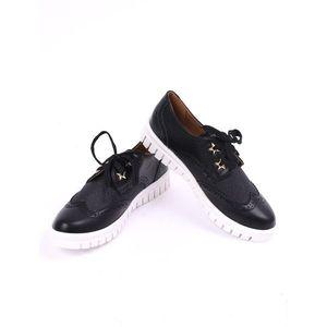 Pantofi Dama Casual Outside Negri imagine