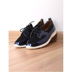 Pantofi Dama Casual Lady Bleumarin imagine