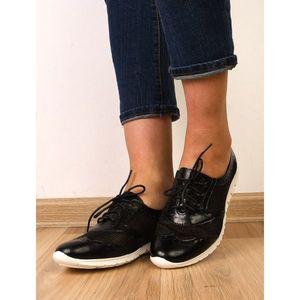 Pantofi Dama Sport Cu Perforatii Impress Negri imagine