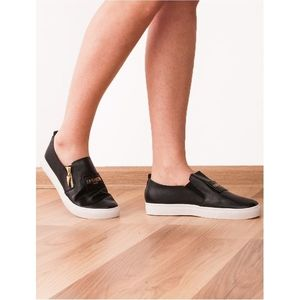 Espadrile Dama Inscriptionate Fashion Paris Negre imagine
