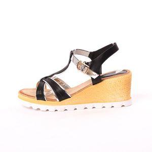 Sandale Dama Ideal Negre imagine