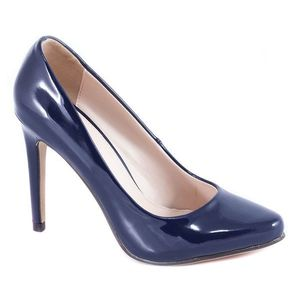 Pantofi dama navy lac toc 10 cm Ronna imagine