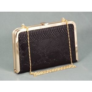 Geanta dama clutch neagra Verya imagine