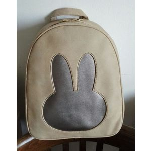 Rucsac dama bej Rabbit imagine