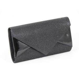 Clutch dama negru Despina imagine