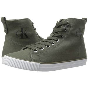 Incaltaminte Femei Calvin Klein Dolores Military Canvas imagine