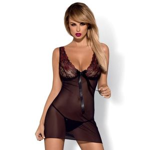 Neglijeu erotic Musca chemise XXL imagine