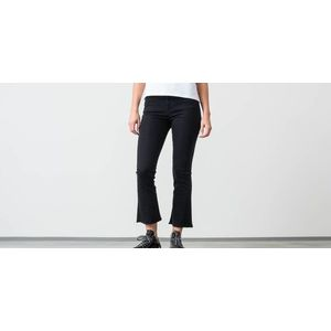 SELECTED Lana High Waist Bootcut Jeans Black Denim imagine