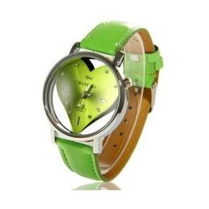 Ceas WoMaGe HEART - Verde imagine