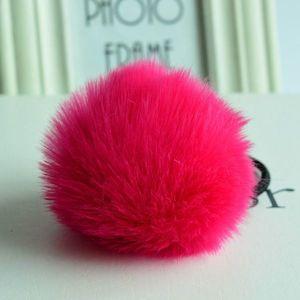 Elastic pentru păr Rabbit - Roz închis KP1635 imagine