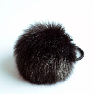 Elastic pentru păr Rabbit - Negru KP1637 imagine