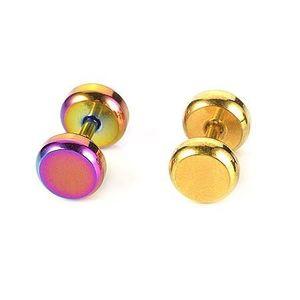 Piercing tragus colorat, din oţel inoxidabil - Culoare Piercing: Auriu imagine