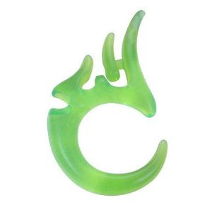 Expander verde pentru ureche – model tribal imagine