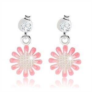 alb roz argintie imagine