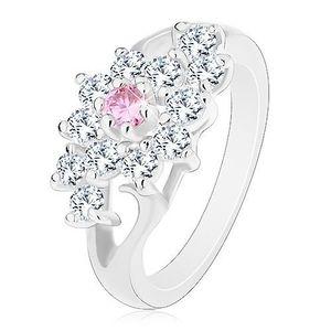 Inel cu floare roz imagine