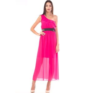 Rochie Dama BlackMiddle12 Fucsia imagine