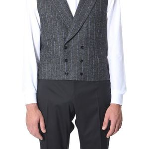 Dolce & Gabbana Double-Chest Vest GREY imagine