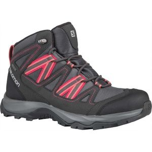 Salomon LEIGHTON MID GTX W gri închis 5.5 - Încălțăminte de hiking damă imagine