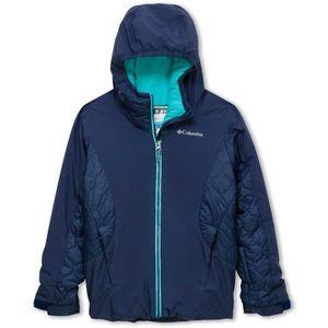 Columbia Wild Child™ Jacket albastru închis L - Geacă iarnă fete imagine