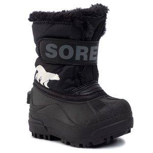 Cizme de zăpadă SOREL - Toddler Snow Commander NV1960 Black/Charcoal 010 imagine