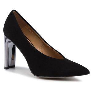 Pantofi SAGAN - 3747 Czarny Welur imagine