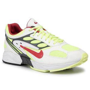 Pantofi NIKE - Air Ghost Racer AT5410 100 White/Atom Red/Neon Yellow imagine