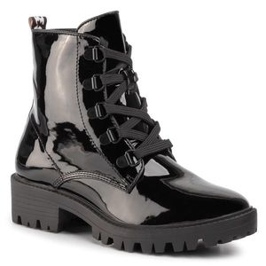 Trappers KENDALL + KYLIE - Epic Bootie Black Patent imagine