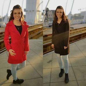 Palton elegant Amalia imagine