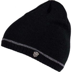 Lewro ROBY negru 12-15 - Căciulă tricotată băieți imagine