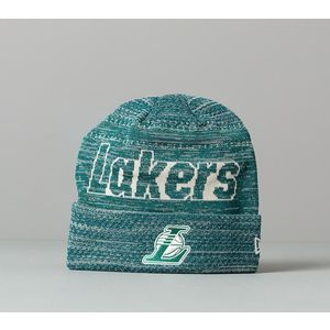 New Era NBA Engineered Fit Cuffed Los Angeles Lakers Beanie Green imagine