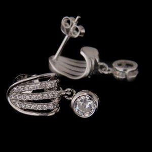 Cercei de argint 60788 imagine