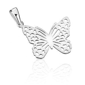 Pandantiv fluture, argint imagine
