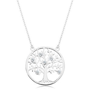 Pandantiv copac argint imagine