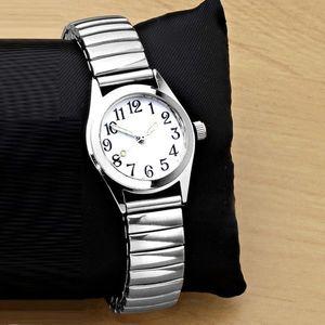 Ceas de mana - argintii - Mărimea diam. 3, 5cm imagine