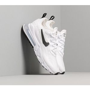 Nike W Air Max 270 React White/ Black-Metallic Silver imagine