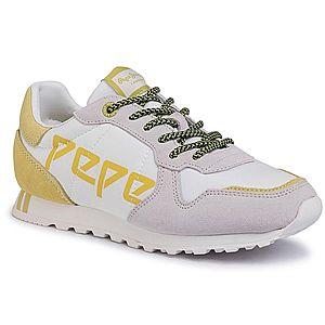 Sneakers PEPE JEANS - Verona W Logo PLS30984 White 800 imagine