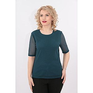 Bluza verde din dantela imagine