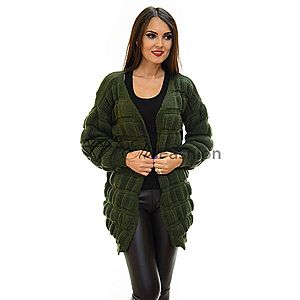 Cardigan All Up Olive imagine