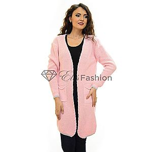 Cardigan One Option Pink imagine