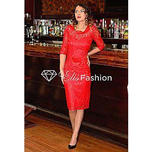 Rochie Appealing Red imagine