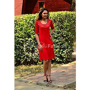 Rochie Blissful Red imagine
