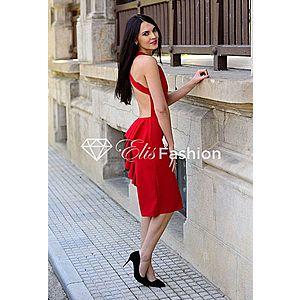 Rochie Flirting Back Red imagine