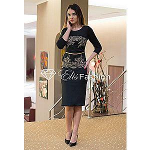 Rochie Golden Sparkle Black imagine