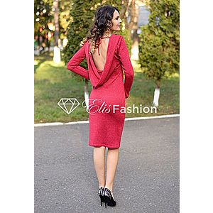 Rochie Glitter Injection Red imagine