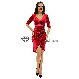Rochie Perla Donna Sweet Velvet Red imagine